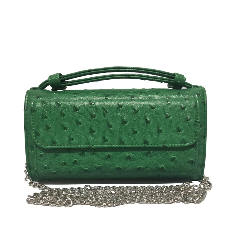 Day Clutch Genuine-Leather Chain Women's Handbags One-Shoulder cross-Body-Bag Fashion