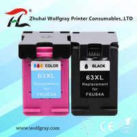 63XL cartucho de tinta Compatible para hp 63 XL para hp63 para Deskjet serie 1110, 2130, 2131, 2132, 3630, 4250, 5220, 5230, 5232, 5252