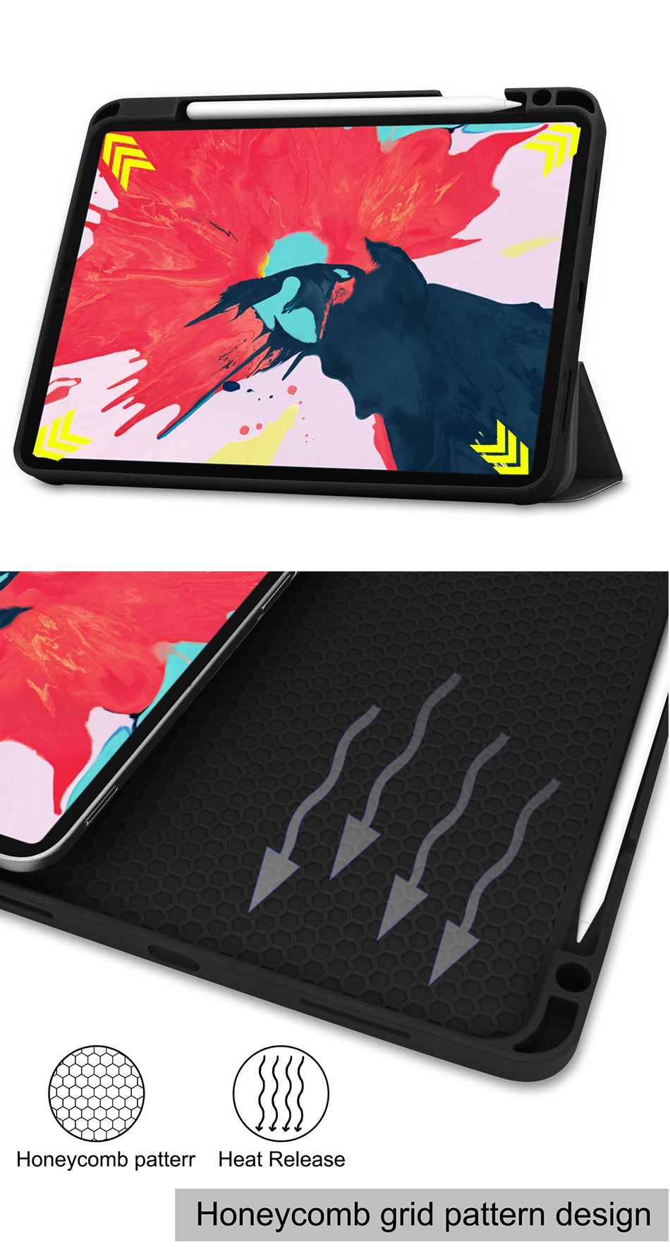 2020 Soft Case inch iPad Tablet TPU Flip For Leather 2nd Smart Stand Gen Pro MTT 11 PU