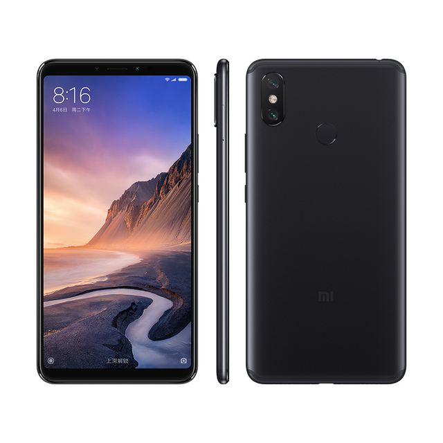 Xiaomi Mi Max 3 4GB 64GB Snapdragon 636 Octa Core Big Display 5500mAh Easy One-hand Use Smart Mobile Phone Max3 3
