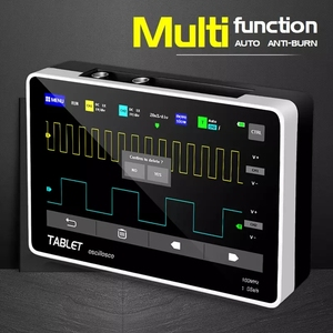 Image 1 - FNIRSI 1013D Digital tablet oscilloscope dual channel 100M bandwidth 1GS sampling rate tablet digital oscilloscope