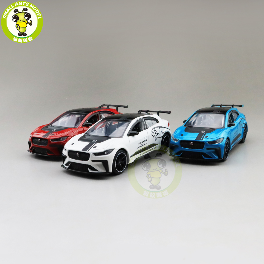 1/36 JACKIEKIM JA GUAR I-PACE ETROPHY Diecast Model CAR Toys For Kids Pull Back Boys Girls Gifts
