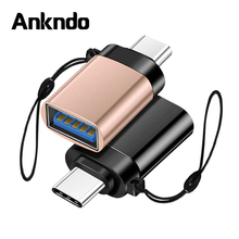 Otg-Adapter Type-C Macbook Conventer Usb-C otg Samsung S10 ANKNDO To for Pro Air S9