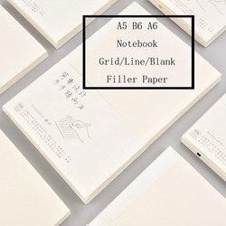 Fromthenon A5A6B6 дневник наполнитель бумага для Midori личный блокнот линия пустая сетка точечная бумага планировщик канцелярские принадлежности