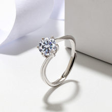 Ring for Women 925 Sterling Silver Resizable Zircon Women Rings Engagement Wedding Jewelry Accessories Wholesale