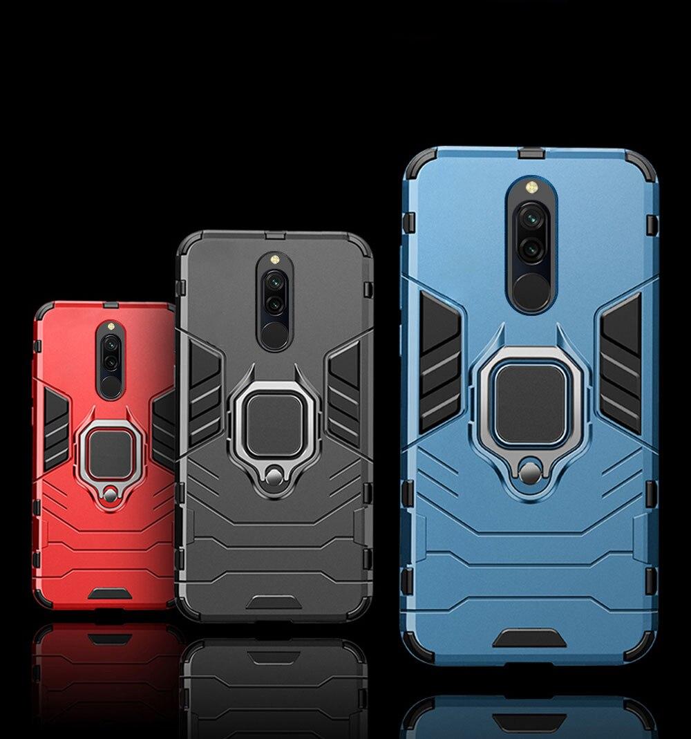 Hec2d9dd3edf24a61a75886bc851994cdT Armor Case for Redmi 8 8A Case Magnetic Car Phone Holder TPU+PC Bumper Cover on for Xiaomi Redmi 8 8A 8 A Global Version Case