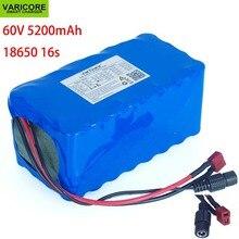 Varicore 16S2P 60 v 5.2Ah 18650 リチウムイオン電池パック 67.2 v 5200 mah 電動自転車スクーター 20A 放電 bms 1000 ワット