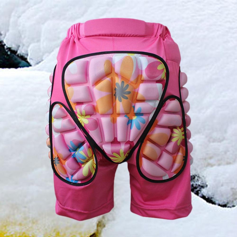 Kids Adults Protective Hip Pants Shorts Adjustable Lightweight Pad for Ski Skate Snowboard Roller Skating Hockey Soccer Siz