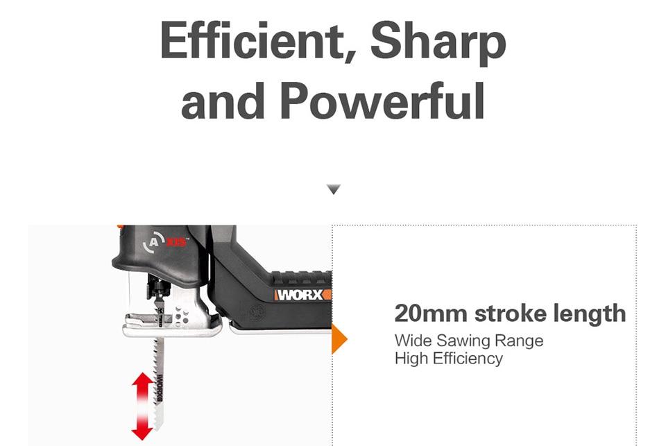 Efficiency of Worx Electric Saw