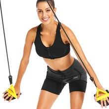 Фитнес-Эспандеры для плавания на руку, силовой тренажер для пилатеса, тянущаяся Тяговая веревка, трубы для занятий спортом на открытом воздухе, тренировки мышц