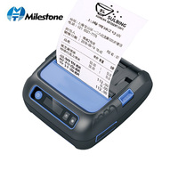 Bluetooth Thermal Printer 80mm Portable Label Receipt Printer Android/iOS/Windows for Small Business POS Mini Mobile Printer