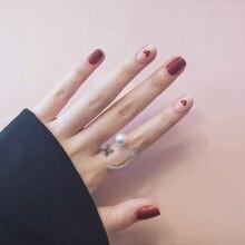 Наклейка для ногтей полностью клейкая бумага для ногтей мультяшная розовая коричневая пленка для лака для ногтей 3D резинка долговечная Водонепроницаемая прэг