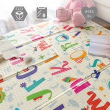 Baby Crawling Mat XPE Soft Foldable Activity Mat Babies Gym Rug Kid Carpet Game Blanket Puzzle Carpet Waterproof Playmat for Kid