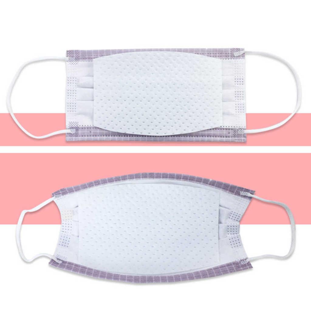 50 шт одноразовые 4 слоя маски Сменные подушечки в коробке анти Пылезащитная Подушка подушечки для ffp2 ffp3 N95 Kn95 N90 защитные маски для лица