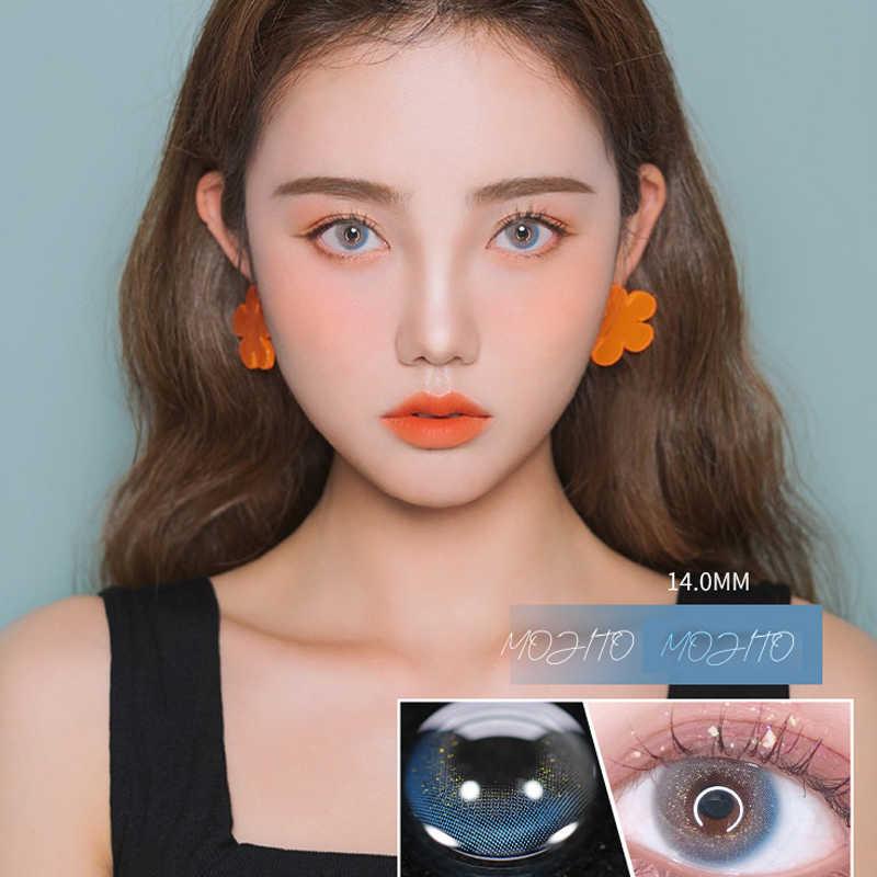 Ekskluzywne style soczewki kontaktowe na przeszkodzie-ani wady wzroku lub poprawne z stopni dioptrii roczne krótkowzroczność moc na receptę szkła okularowe