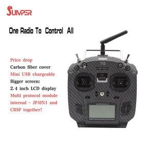 Image 2 - Jumper T12 Pro OpenTX 12ch Sensor de alta sensibilidad Gimbal transmisor de Radio con JP4 in 1 Módulo de radiofrecuencia multiprotocolo