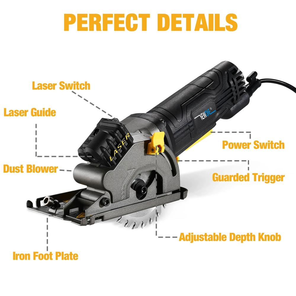 Power Cut Multifunctional With For Saw Tool Saw Tube Circular Electric NEWONE Mini WoodPVC DIY Laser Electric