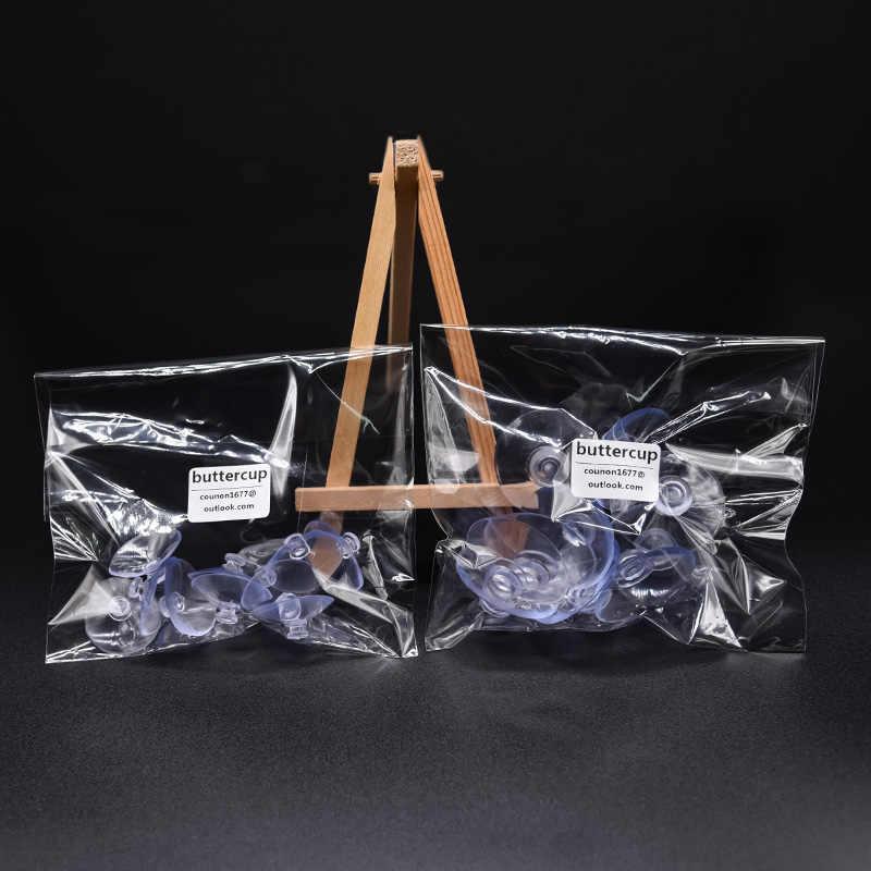 Rõ Ràng Cellophane Tự Dính Túi Nhựa Dày Tự Hàn Kín CELLO OPP Túi Đóng Gói Quà Nhỏ Kẹo Cookie Gói Túi Bảo Quản