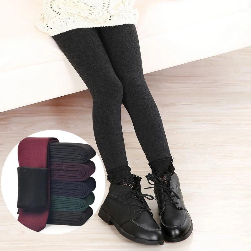 Kinder Mädchen Winterleggings Warm Leggings Strumpfhose Thermo Leggins Hosen