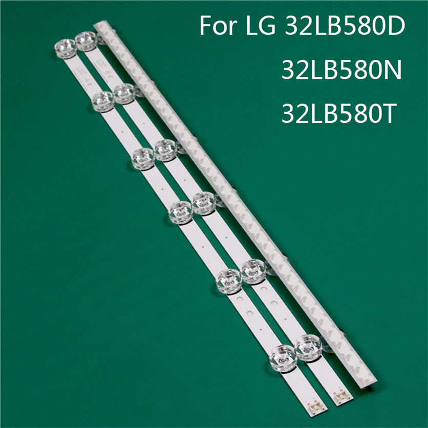 LED TV Illumination Part Replacement For LG 32LB580D-DB 32LB580T 32LB580N-ZM LED Bar Backlight Strip Line Ruler DRT3.0 32 A B