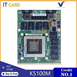 Quadro K5100M K5100 GDDR5 8GB Vedio Graphics Card N15E-Q5-A2 With X-Bracket For Dell M6700 M6800 HP 8770W ZBook15 G1 G2 Test OK