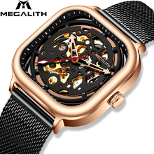 Get more info on the MEGALITH Rel�Gio Masculino Watch Men Automatic 2019 Business Watch For Men Wristwatch Waterproof Clock Mesh Band Orologi Blue