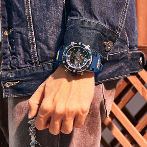 Image 5 - KADEMAN Warterproof Watch Sports Silicone Mens Watches Top Brand Luxury Clock Male Business Quartz Watch Men Relogio Masculino