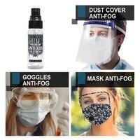 Anti-Fog Spray Eyeglass Lens Cleaner Car Windscreen Goggles Long Lasting Defogger Anti Fog Spray Weather Protection 32 ml 6