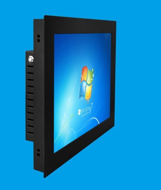 All In One 10.4 Inch Fanless Industrial Touch Screen Mini Pc QW104