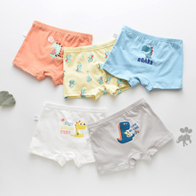 5 Pcs/lot Panties Panty Cartoon Boy Underwear Cotton Briefs Children Boys Kids Pants Girl For Child Boxer Girls Baby Underpants baby boys girls cloth diapers summer baby girls boy cotton bread pants bloomers briefs shorts panties underwear