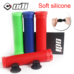 ODI bicycle Handlebar grip MTB Silicone Anti-skid bike bar Grip Cover 130MM For Road Mountain Folding Blance Cycling Accessories