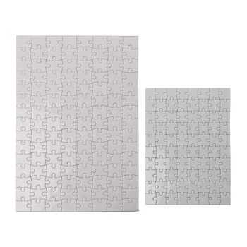 10 Packs Jigsaw Puzzles A4 A5 Sublimation Blanks Puzzles DIY Heat Transfer Craft 1