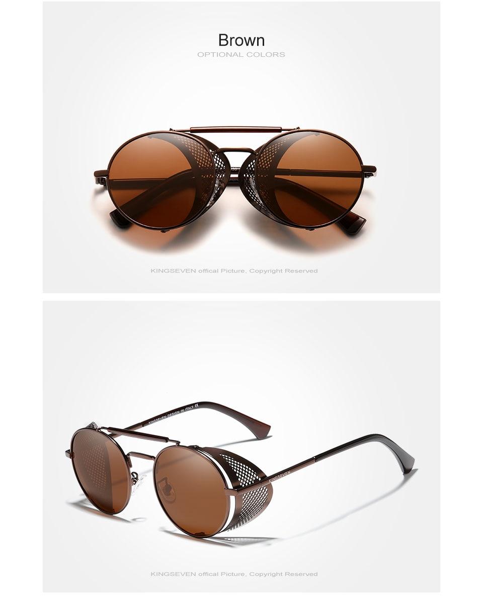 Hec30117fc27a4741956cfa1bd519dcbep Genuine GIFTINGER Retro Round Steampunk Sunglasses Men Retro Women Sun Glasses Shades Vintage Travel Eyewear Gafas De Sol 7550