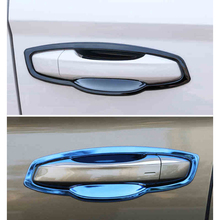 Lsrtw2017 Stainless Steel Car Door Bowl Panel Trims for Skoda Kodiaq Gt Interior Mouldings Accessories