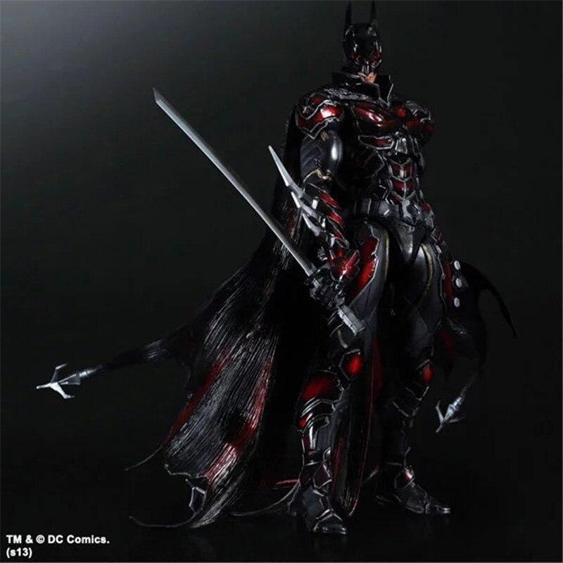 Avengers jouer Art Kai figurines d'action rouge Batman édition limitée capitaine américain Super homme fer homme Figure Batman jouet poupée modèle