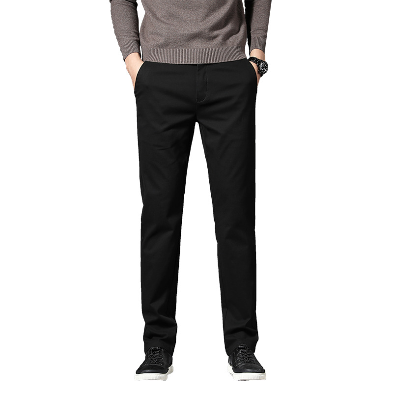 New Style Elasticity Casual Trousers Men-Style Fashion Slim Women's Youth Korean-style Simple Pencil Pants Pants 1620