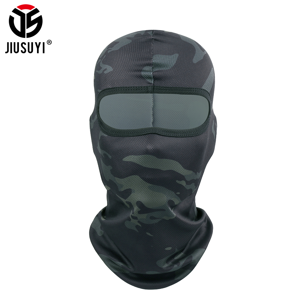 Tactical Balaclava Cap Camouflage Military Full Face Masks Army Airsoft Paintball Shooting Bicycle Helmet Liner Shield Men Women