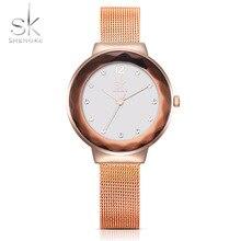 New Fashion Ladies Quartz Watches Luxury Dress Wrist Watch Stainless Steel Strap Women Relogio Feminino