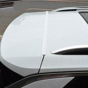 Image 3 - 1.6M Universal Car Door Trunk Upper Edge Sealing Strip Rubber Dustproof Sticker For SUV MPV Hatchback Sedan Auto Accessories