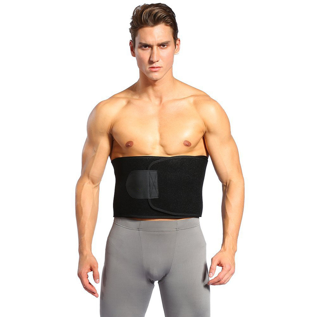 Women Men Fitness Belt Xtreme Power Thermo Sweat Body Shaper Waist Trainer Trimmer Corset Wrap Workout Shapewear Slimming 5
