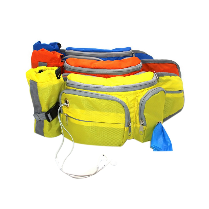 Outdoor Pet Training Pockets High-Quality Nylon Breathable Pet Snack Packs Running Multifunctional Storage Pockets Wearable Trac