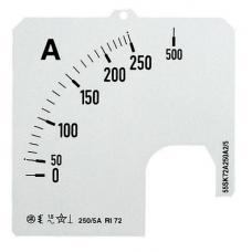 ABB Шкала для амперметра SCL A5 300/72 2CSG122259R5011|Измерители тока| | АлиЭкспресс