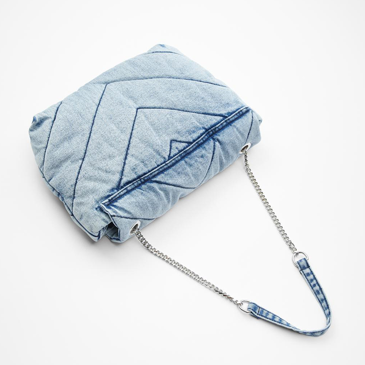 Luxury designer jeans bags women denim chain crossbody bags for women 2020 women's handbags shoulder bags messenger female