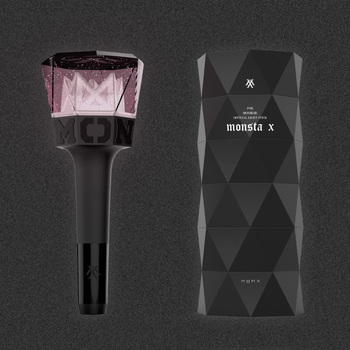 Official LED KPOP MONSTA X Light Stick Spot Fan Series Stick Light Concert Illuminated Fan Gift Collection Hip Hop Light logitech m238 fan collection argentina