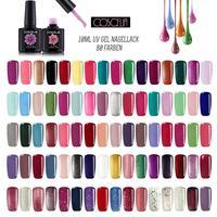 80pc/Set COLORS Gel Nail Polish Kit Nail Art UV LED Gel Set For Manicure Long Lasting Gel Nail Polish Kit Soak off Varnishes