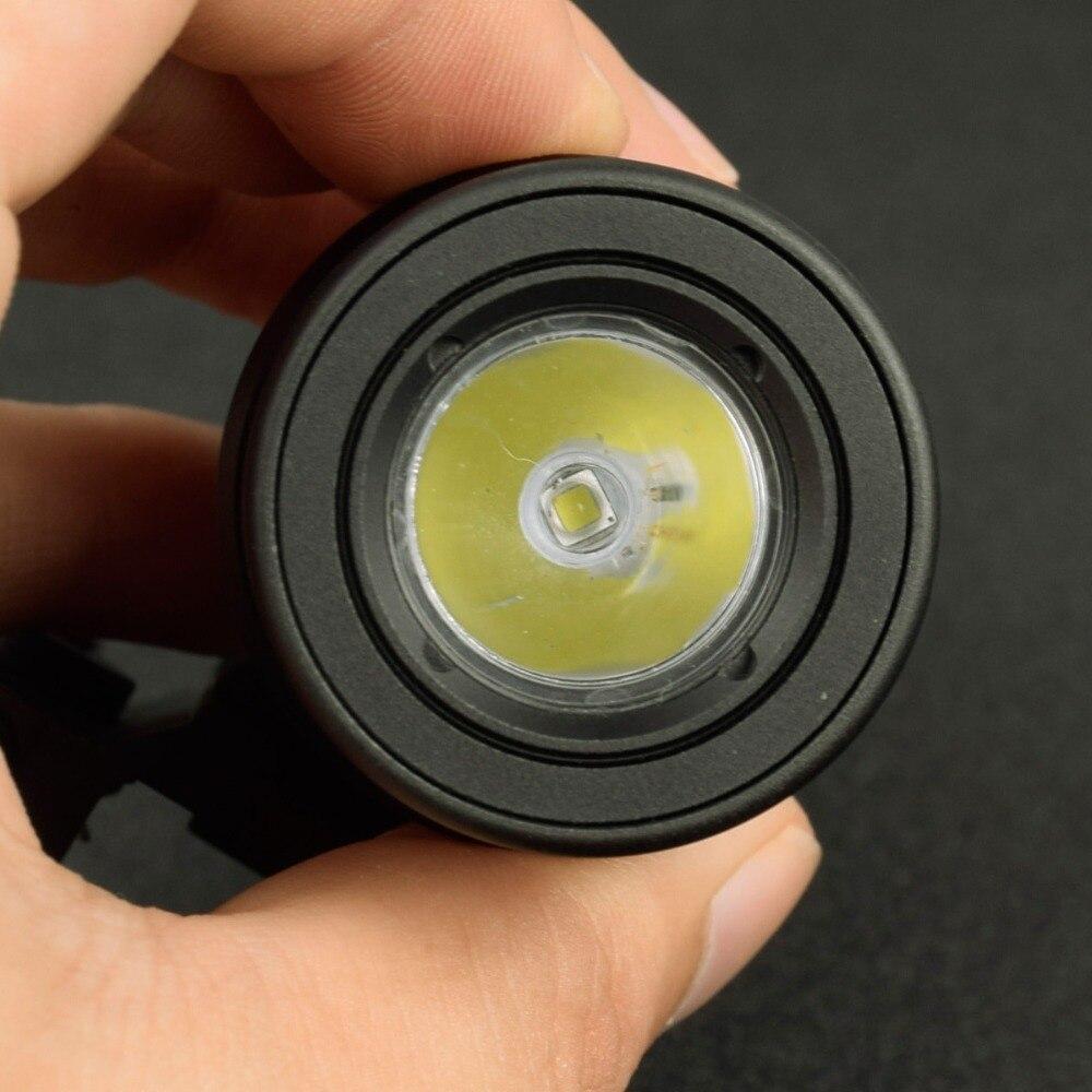 Tático m952v led luz scout lanterna arma