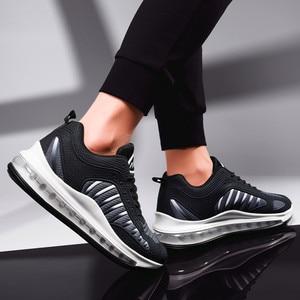 Image 4 - Luchtkussen Mode Sneakers Mannen Hoge Kwaliteit Man Casual Schoenen Mannelijke Merk Schoenen Mannen Casual Schoenen Mode Sneakers Voor man