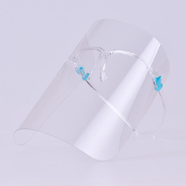 Anti-Saliva Protective Face Mask Transparent Anti-Fog Dust-Proof Full Face Shield Anti-Oil Splash Face Protector 4