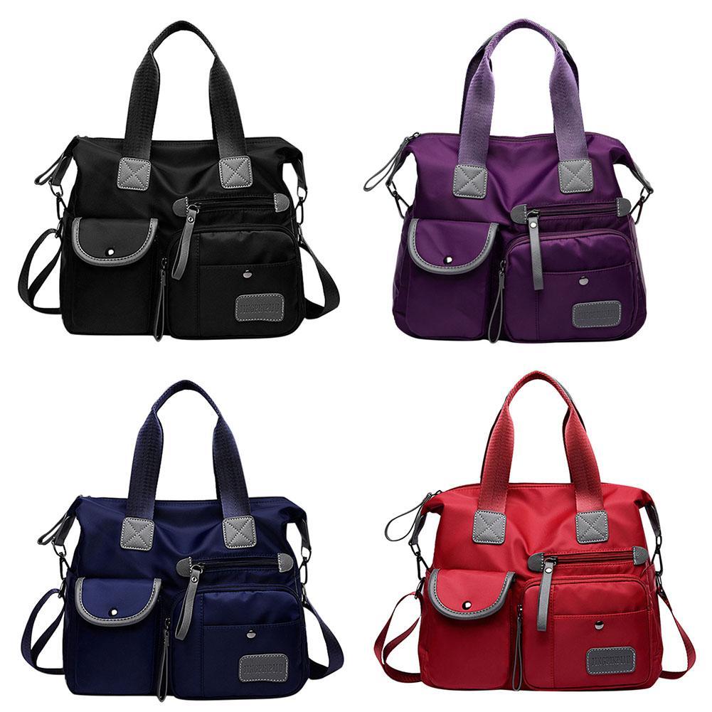 Multiuse Women Diaper Bags Mummy Travel Messenger Bag Large Capacity Waterproof Nylon Crossbody Nappy Bags