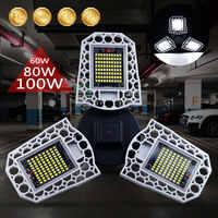 E27 Led-lampe 60W 80W 100W LED + Beleuchtung Hohe Intensität Verformbaren Lampe Wasserdichte Mi LED Smart birne Industrielle LED Garage Licht